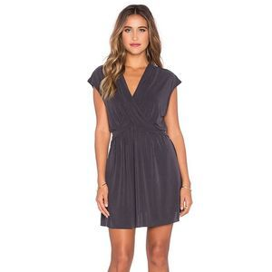 Free People Crisscross Cupro Mini Dress